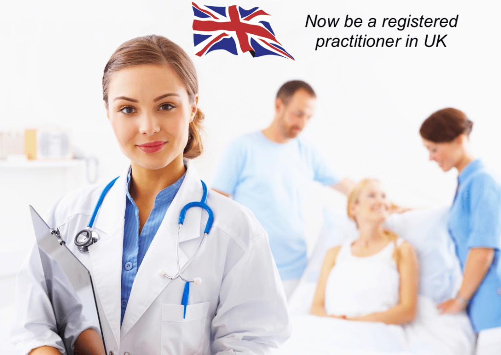Registered Practitioner in UK